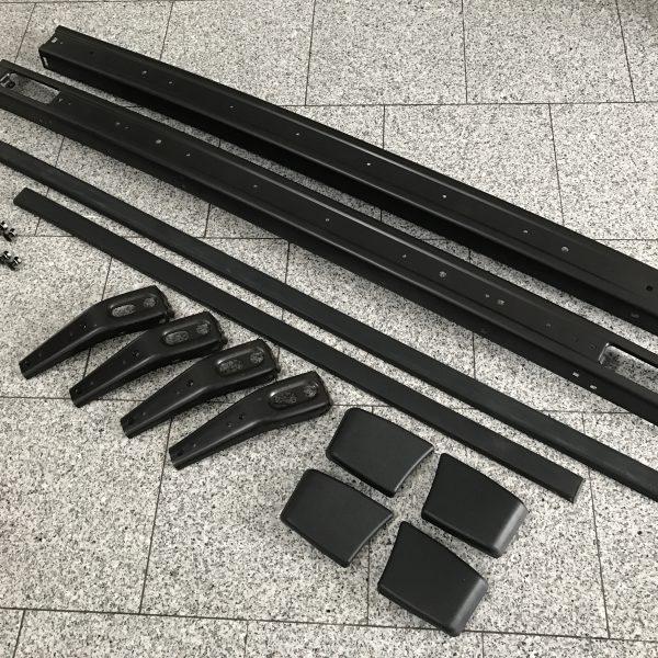 Golf1-Stoßstangen-kpl.Kit1-SCHWARZ-m.Prellschutz.1